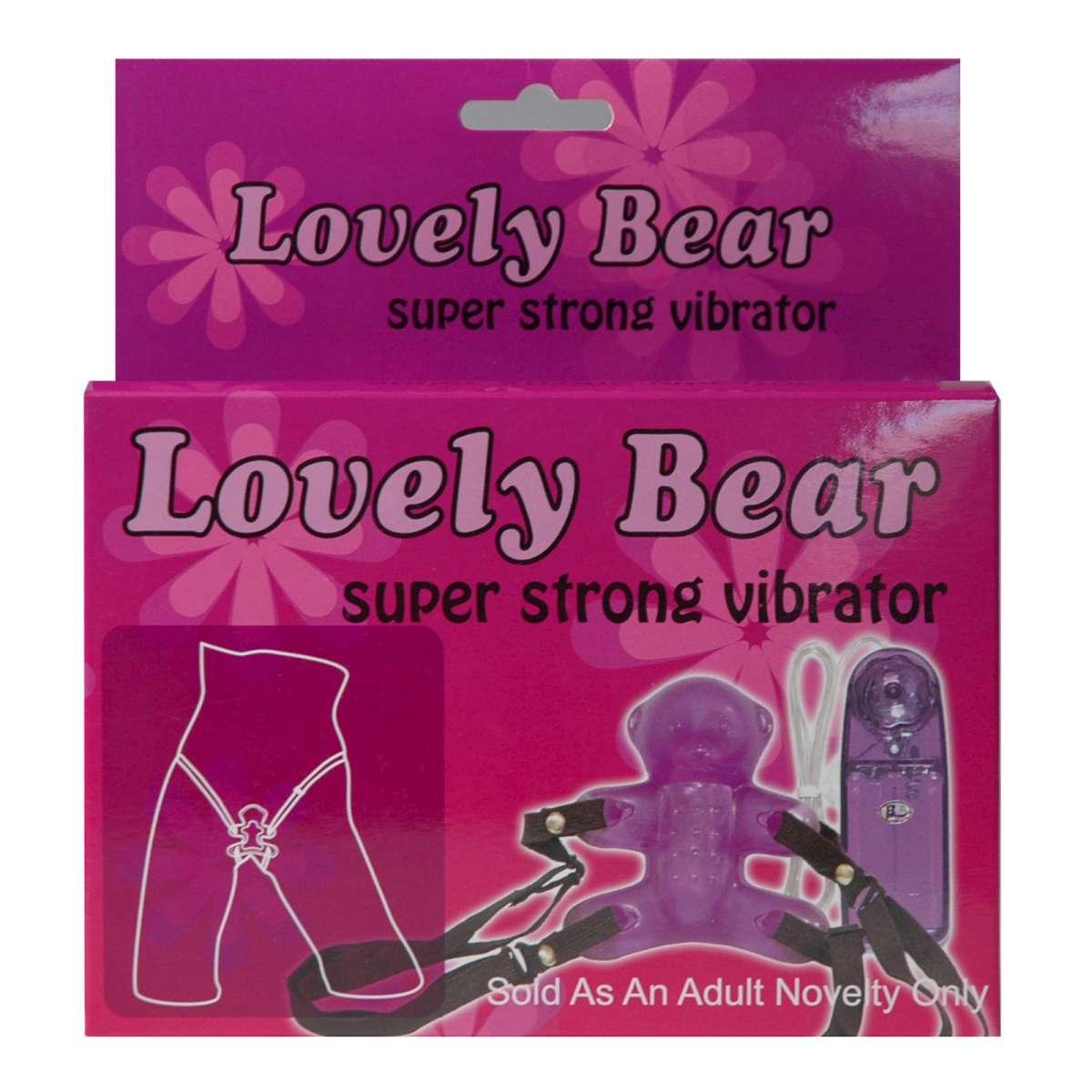 Strapon Lovely Bär zum Umschnallen aus slikonähnlichen